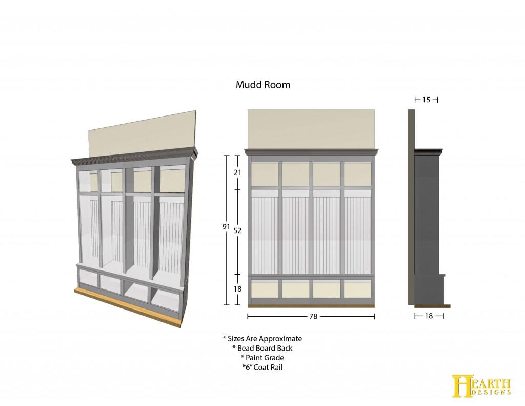 Option 5 Mudd Room